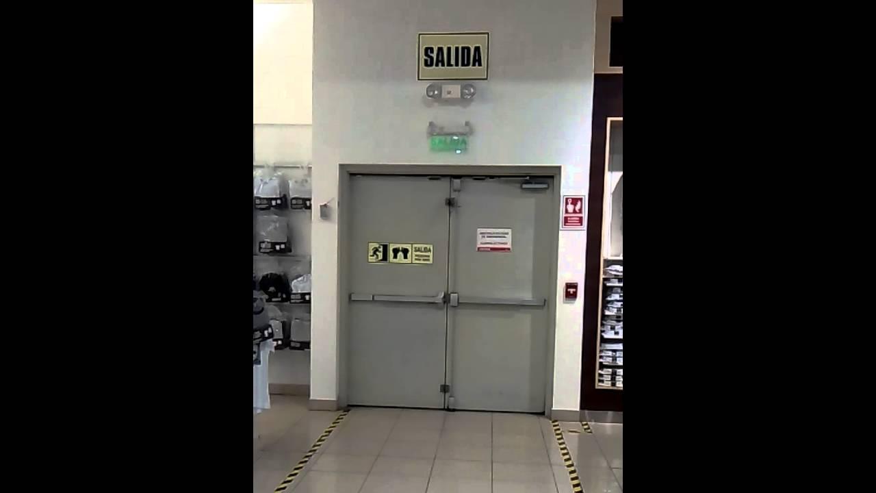 978267774 puertas de emergencia barras antipanico - Puertas de cochera ...