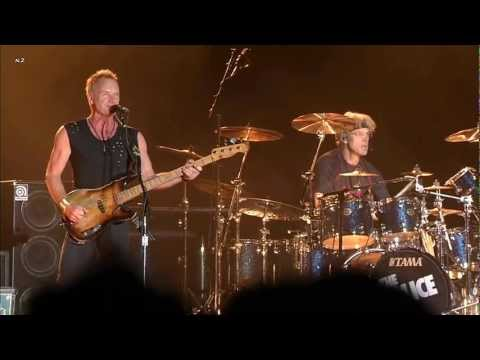The Police  Message in a Bottle 2008   HD