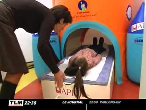 Unique en France : l'IRM pour les enfants (Lyon)