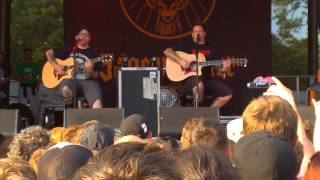 Download Festival 2014: Bowling For Soup - Acoustic Set (Two Seater, Almost, Circle Turbulence)