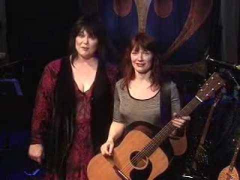 [Ann & Nancy Wilson of Heart] Harmony Lesson - Even It Up