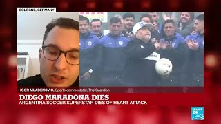 Argentina soccer legend Maradona dies of heart attack