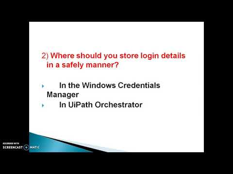 Top 10 basic RPA - UiPath Multiple Choice Interview Questions