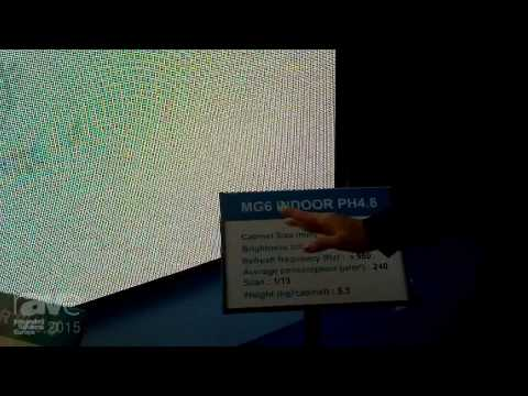 ISE 2015: YES TECH Highlights Their MG6 Indoor PH4.8 and MG5 Indoor PH3.9