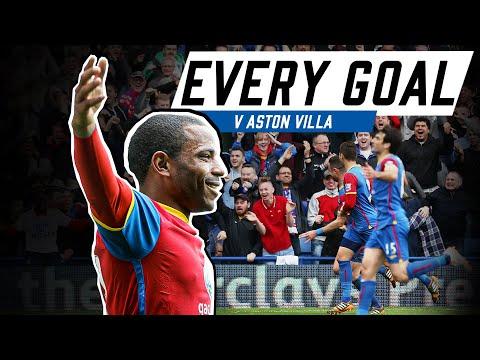 Every Premier League Goal v Aston Villa
