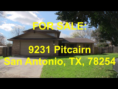 San Antonio HUD Homes -- HUD King tours 9231 Pitcairn