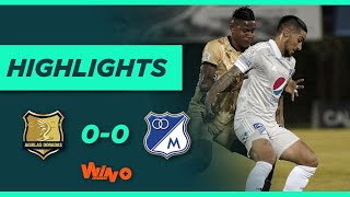 Águilas Doradas vs. Millonarios (Goles y highlights) | Liga BetPlay Dimayor 2021-1 | Fecha 14