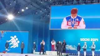 Россиянин Виктор Ан - победитель Олимпиады в Сочи!