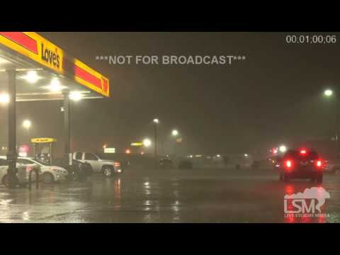 11-22-16 Van, TX High Wind and Rain