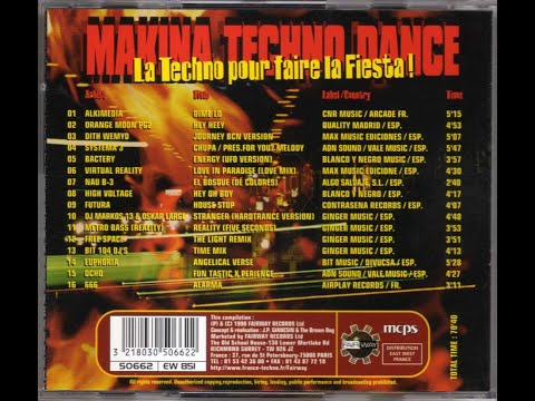 makina techno dance mixed by dj j phy g  le jame's