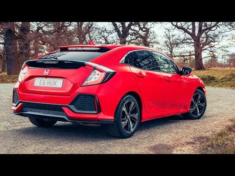 2017 Honda Civic Hatchback interior Exterior and Drive