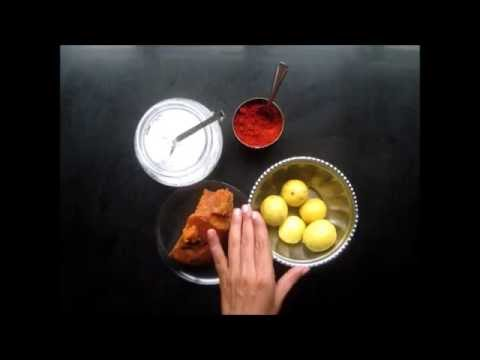 How To Make Sweet Lemon Pickle Youtube