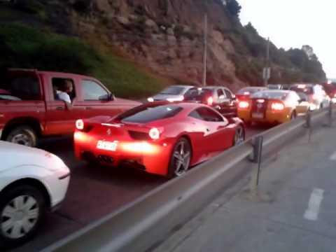 Camaro Ferrari Shelby En Vina Del Mar Chile Youtube