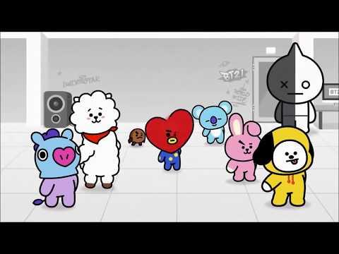 The Tomato Song Korean Children Song   BT21 Animation Version