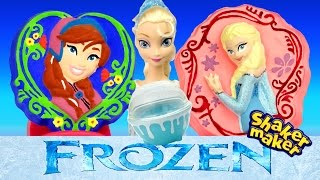 FROZEN ELSA ANNA STATUETTES Sculptor Kit Paint your own SHAKER MAKER How-To Disney Princess