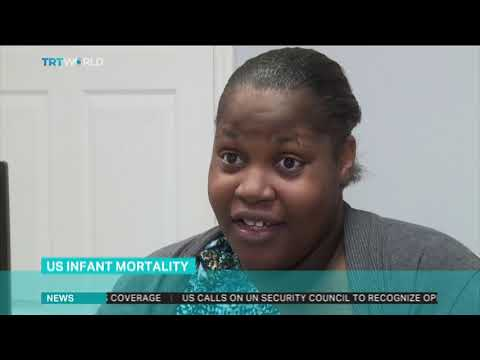 Infant mortality of African-American babies remains high in US
