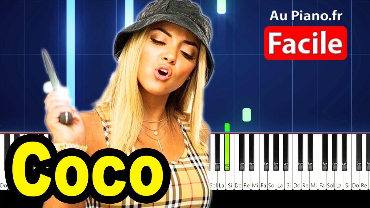 Download Wejdene Coco - Piano Cover Tutorial Lyrics (AuPiano.fr)