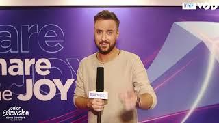 Eurowizja Junior 2019 – Olek Sikora zaprasza na finał