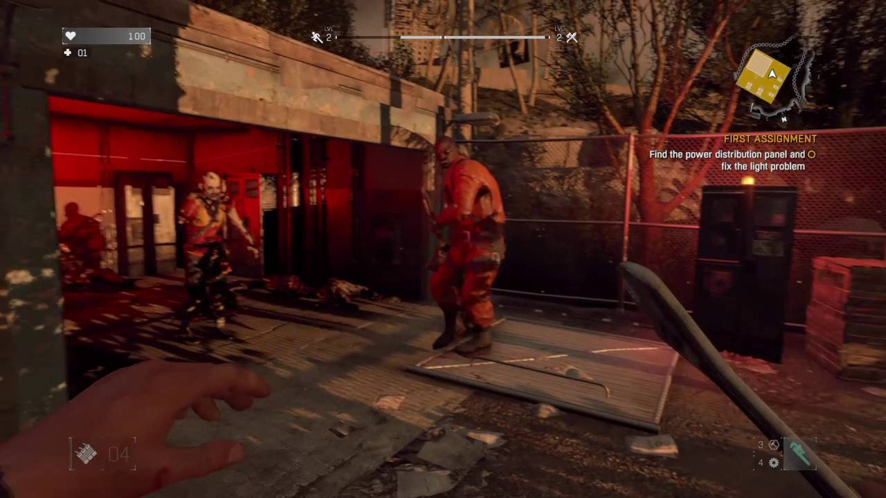 Dying Light First Ignment Find The Distribution Panel And Fix Problem