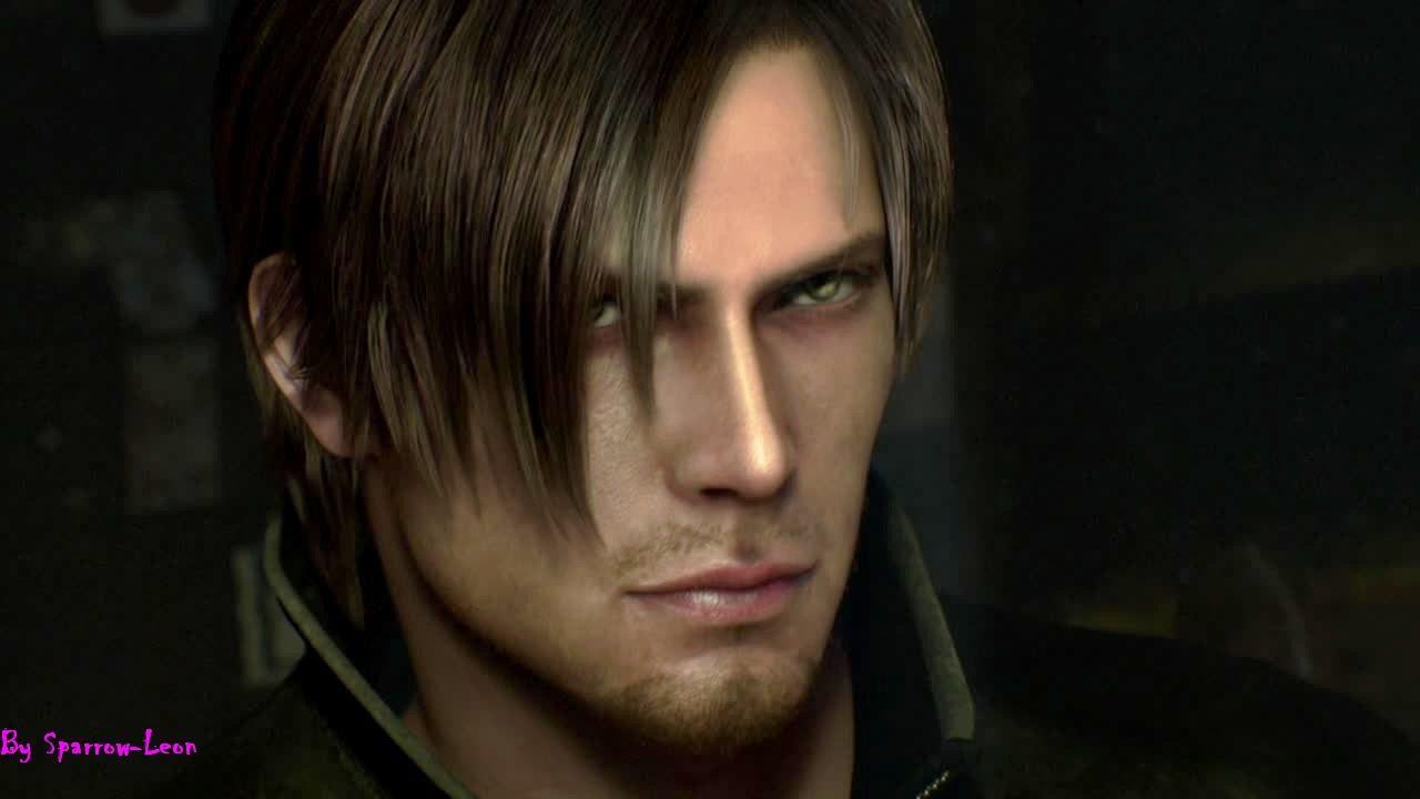 leon kennedy resident evil 4 face model