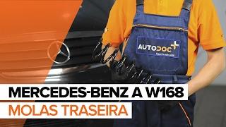 Como substituir uma molas traseira noMERCEDES-BENZ A W168 TUTORIAL | AUTODOC