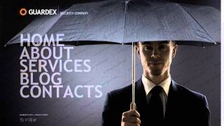 Security Company Website Template