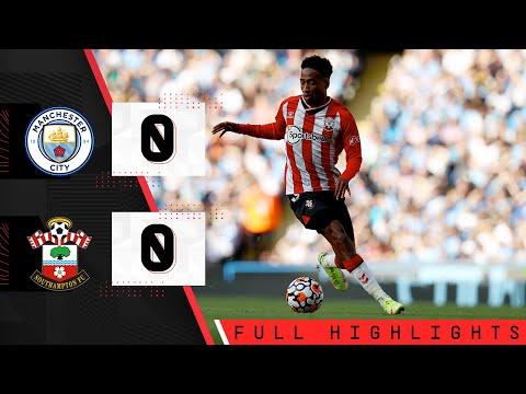 HIGHLIGHTS: Manchester City 0-0 Southampton    Premier league