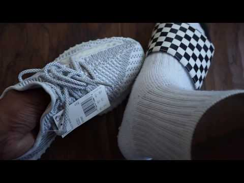 "eb0a309a625 My FIRST review without Corey or Reid adidas Yeezy Boost 350 v2 ""Static"" ("