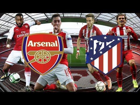 Arsenal vs Atlético de Madrid 1-1 en directo Europa League | NARRACION Y ESTADISTICAS