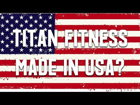 Titan Fitness Barbell Made In The USA? Blues City Bar Review