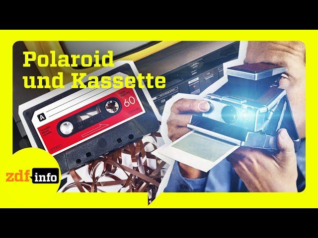 Kultige Technik von früher: Die Kassette und die Polaroidkamera – Ikonen der Technik  | ZDFinfo Doku