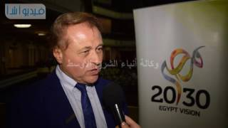 بالفيديو: رئيس مجلس إدارة أ ش أ مصر تغير شكل الاقتصاد بالتوجه إلى الزراعة  والصناعة