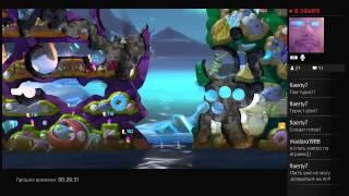 Worms Battlegrounds (PS4) запись стрима часть3