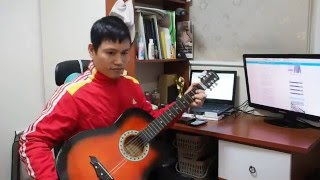 Xuân này con không về - guitar habanera