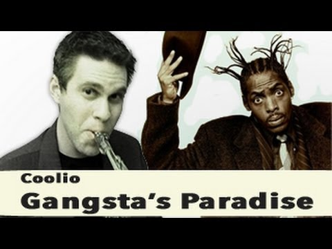 Gangsta's Paradise - Alto Saxophone - Coolio - BriansThing ...