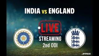 India VS England 2 nd ODI Cricket LIVE Stream