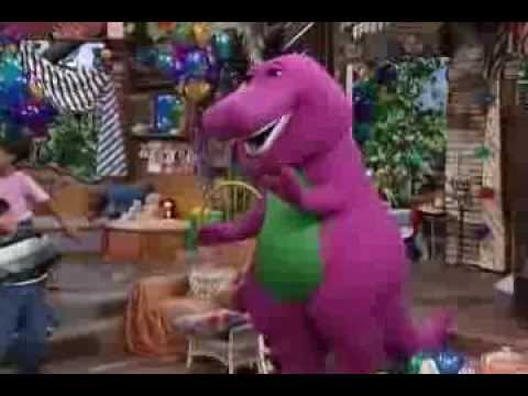 barney the clapping game youtube