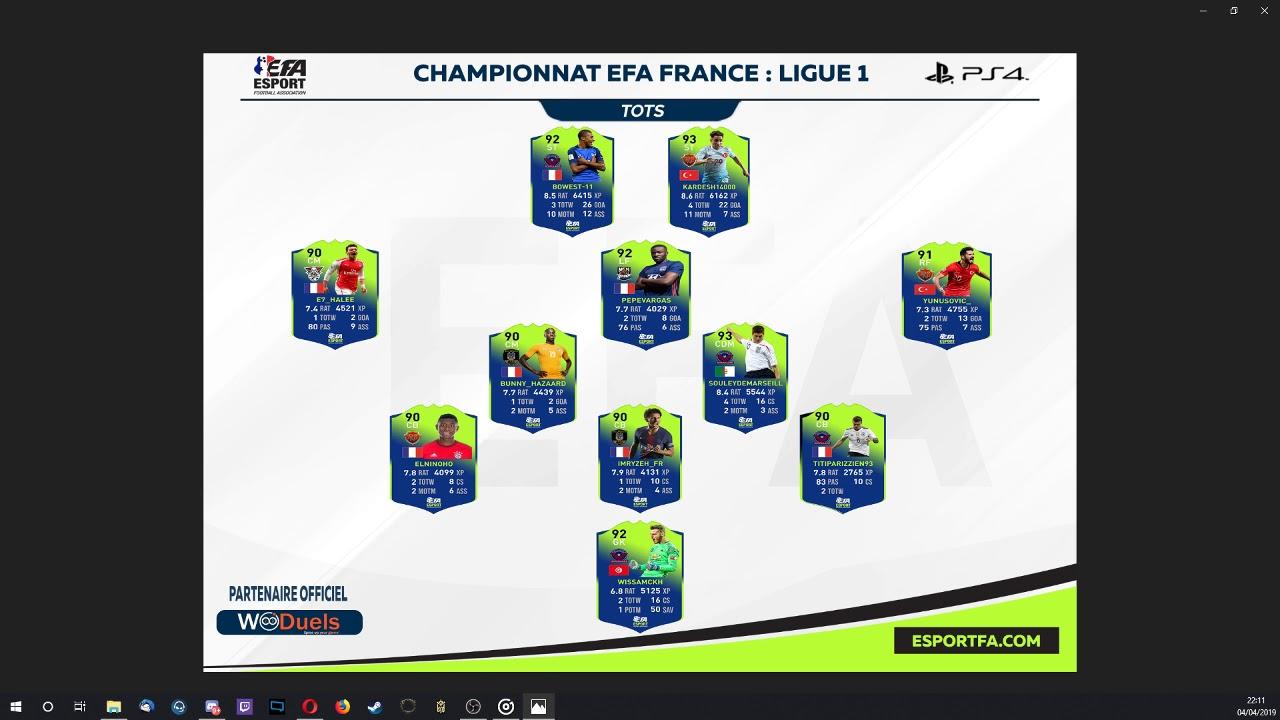 TOTSHOW EFA EDITION II PS4 : Avant-Match