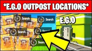 E.g.o. Outpost Locations   Search Chests At Ego Outposts & Visit Different (fortnite Week 4)