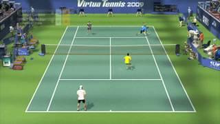 Virtua Tennis 2009 Doubles Gameplay (HD)