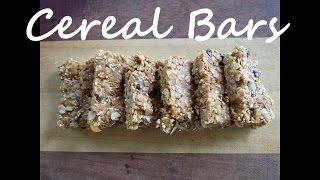 Cereal Bar Recipe With Oats And Amaranth - No Bake Can Be Vegan - The Frugal Chef