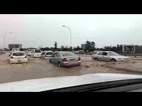 Gaborone was flooding
