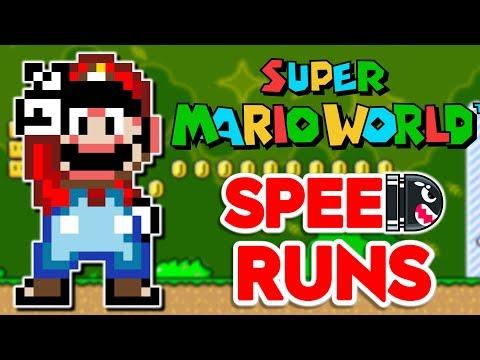 Super Mario World 11-Exit Speedruns (Orb Glitch)   DE-RUSTING