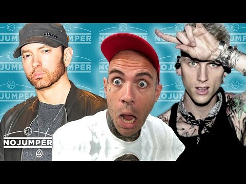 Eminem vs Machine Gun Kelly: WHITE BOY BEEF GONE WILD