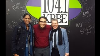 KRBE Houston Interview Lewis Senior & Chameka Scott