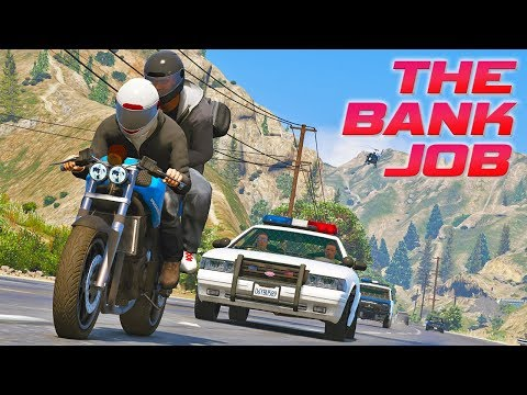 """The Bank Job"" - GTA 5 Action film thumbnail"