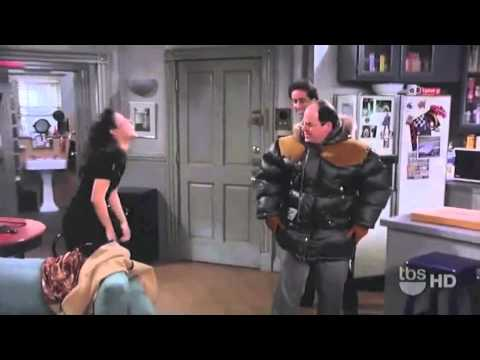 Seinfeld Clip  -  George And His Gore Tex Coat