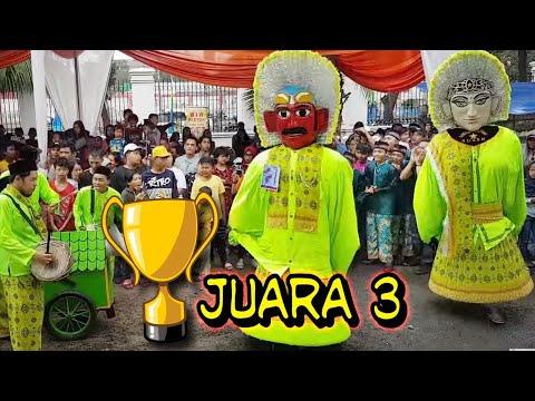 Ondel ondel JUARA 3 ☆Sanggar BINTANG ADZAM☆ Festival Gerbang Betawi.