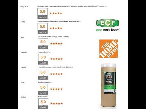Eco Cork Foam Reviews You