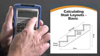 Construction Master Plus EZ Basic Stairs How To